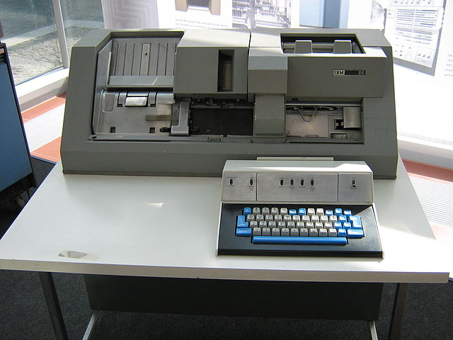 The Ibm 029 Card Punch